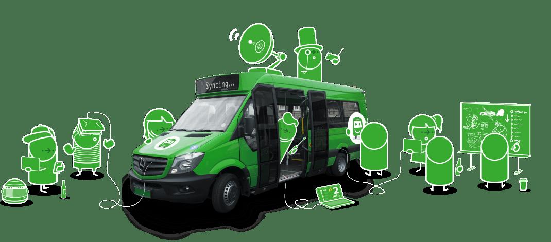 CityMapper lance un service de bus à Londres