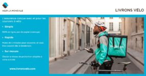 AG2R La Mondiale lance une offre prévoyance et santé dédié aux coursiers à vélo