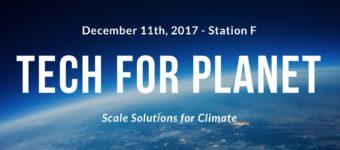 #TechForPlanet, Station F, le 11 décembre dernier